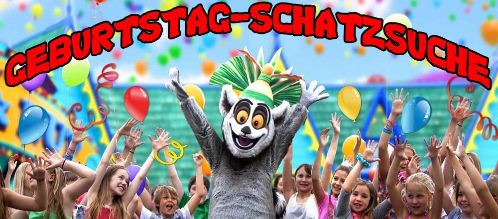 Geburtstag Schatzsuche